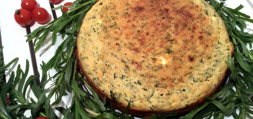 Serbisk maisbrød: Proja med feta og spinat