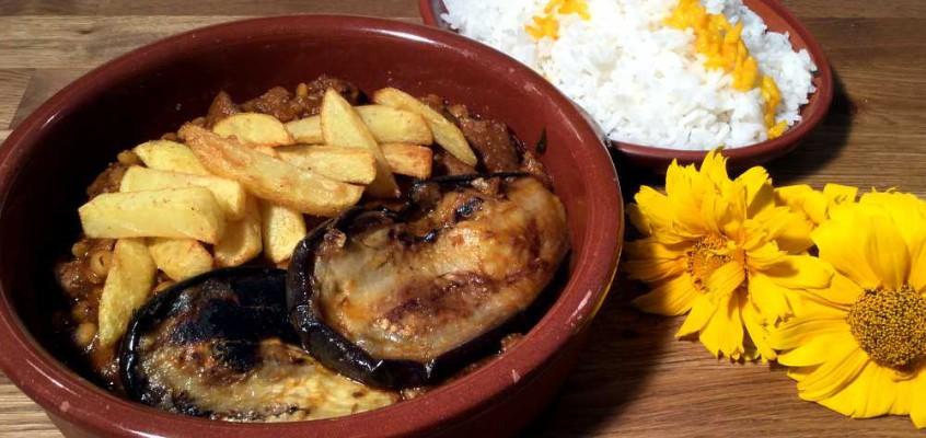 Gheimeh: Persisk lammegryte med splitterter og auberginer