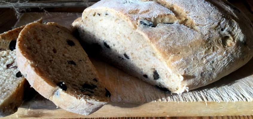 Pan de aceitunas: Autentiske spanske olivenbrød