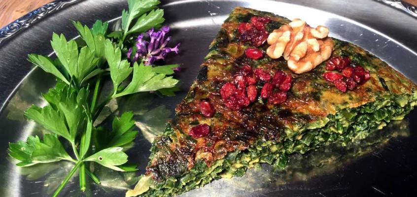 Kokko sæbsi: Crazy persisk urteomelett