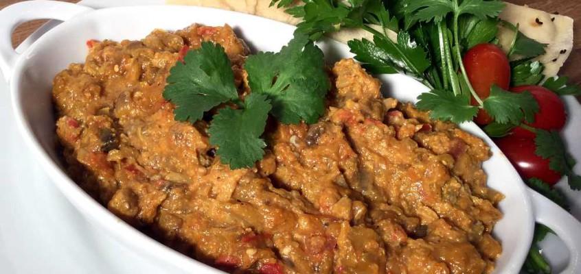 Mirsa ghasemi: Klassisk persisk forrett av grillet aubergine