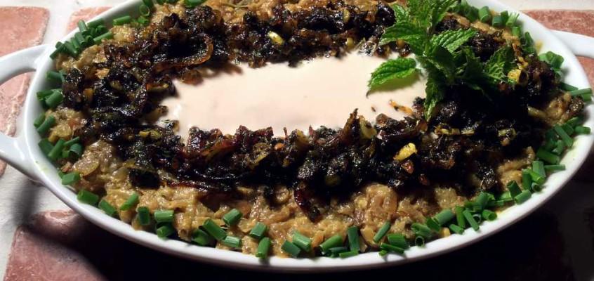 Kasjk-e-bademjan: Persiske grillauberginer med smak av geit