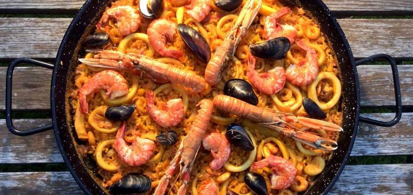 Paella marinera: Verdens mest populære spanske rett