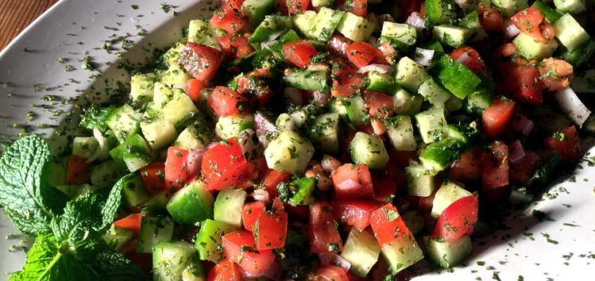Shiraz-salat: Den store salatklassikeren fra Iran