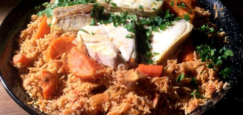 Riz wolof med fisk: Klassikeren fra Vest-Afrika