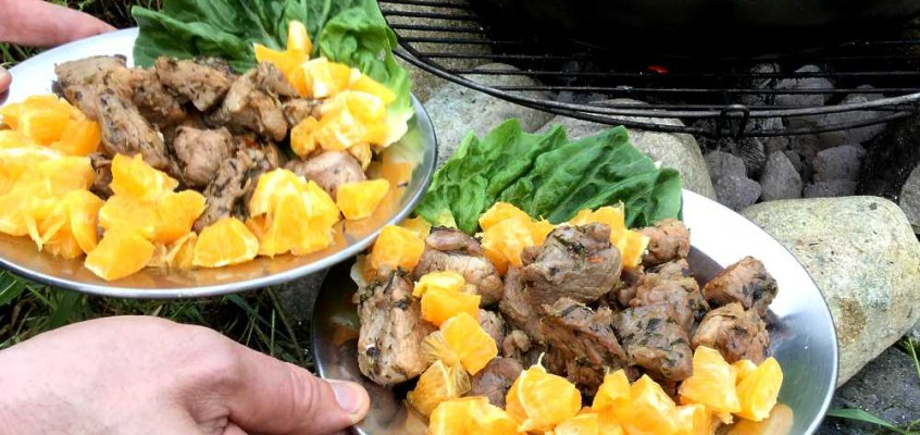 Garlic pork: Chili- og hvitløksvin fra Trinidad