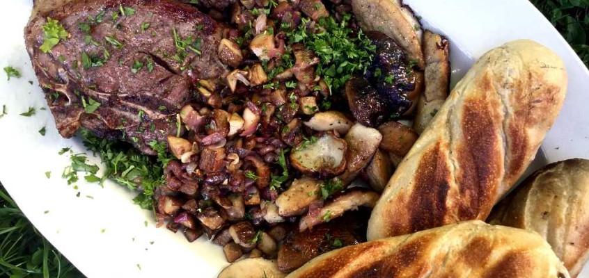Cèpes à la bordelaise: Fersk steinsopp på Bordeaux-vis